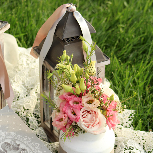 Διακόσμηση Rustic γάμου