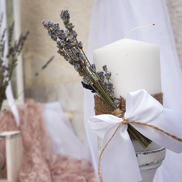 Διακόσμηση γάμο-βάπτισης λεβάντα