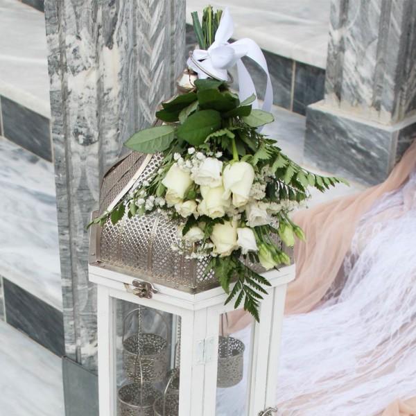 Στολισμός γάμου σε nude αποχρώσεις