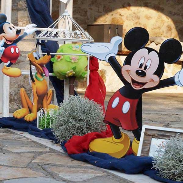 Στολισμός βάπτισης Mickey mouse