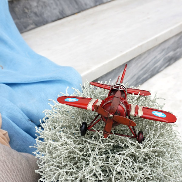 Στολισμός αεροπλάνο vintage