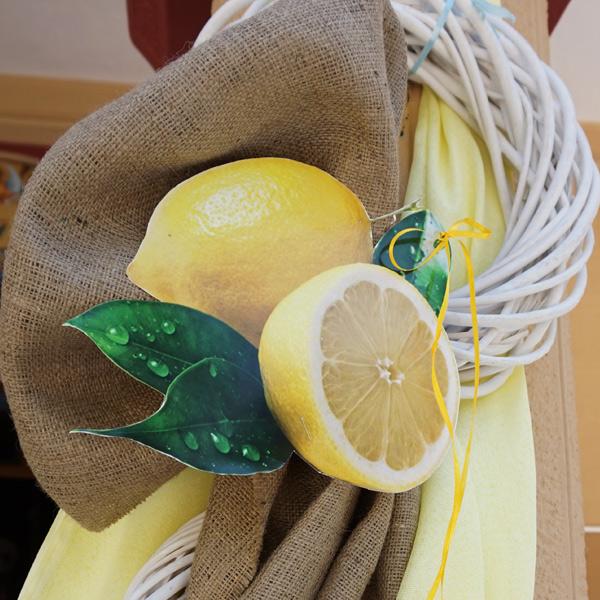 Βάπτιση με θέμα το λεμόνι