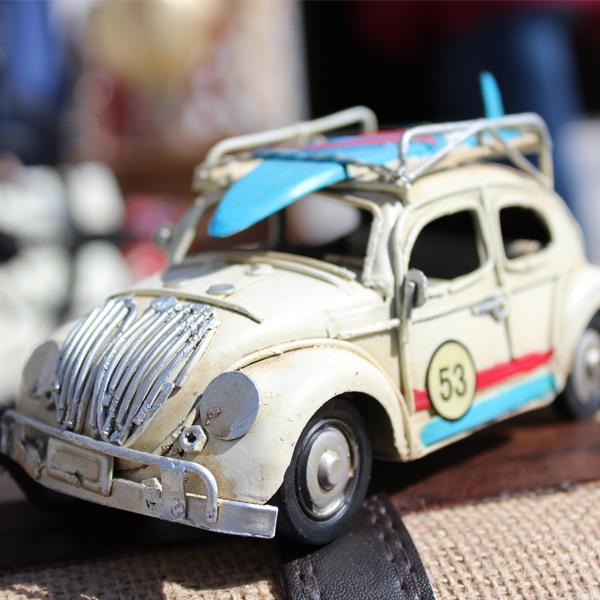Βάπτιση με vintage αυτοκίνητο
