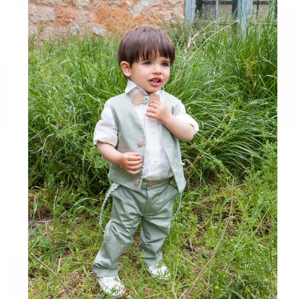 5b6fe4d58cd Βαπτιστικό ρούχο κοστούμι υφασμάτινο για αγόρι