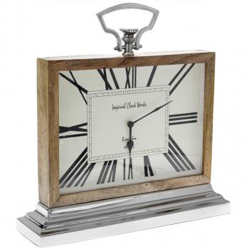Ρολόι επιτραπέζιο ξύλινο